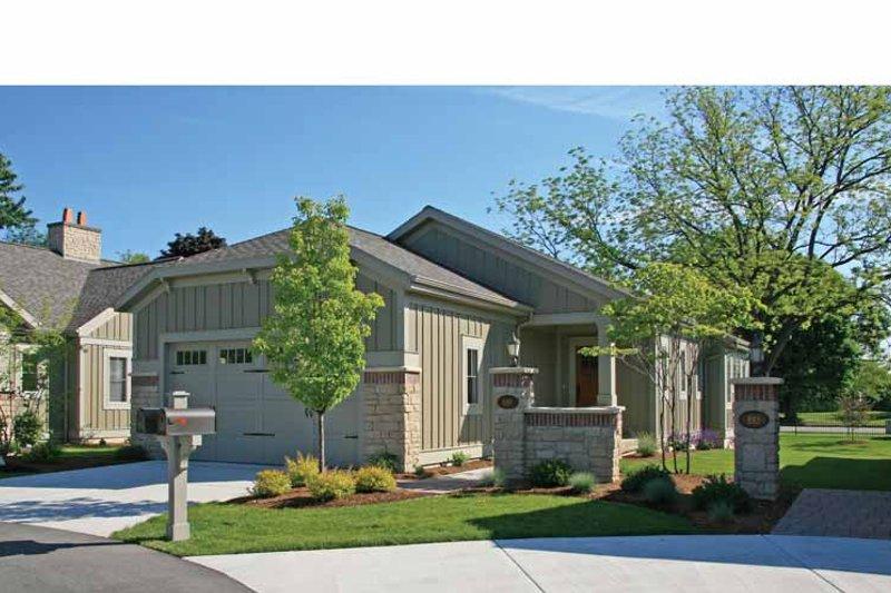 Architectural House Design - Craftsman Exterior - Front Elevation Plan #928-194
