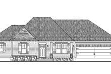 Architectural House Design - Cottage Exterior - Front Elevation Plan #406-9661