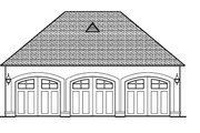 European Style House Plan - 5 Beds 5.5 Baths 5727 Sq/Ft Plan #1058-24 Exterior - Other Elevation
