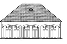 Dream House Plan - European Exterior - Other Elevation Plan #1058-24