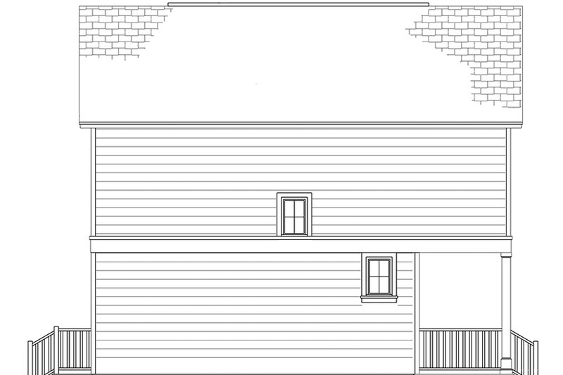 Colonial Exterior - Other Elevation Plan #1058-91 - Houseplans.com