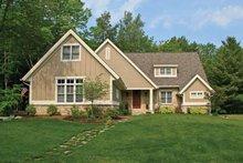 House Design - Craftsman Exterior - Front Elevation Plan #928-199