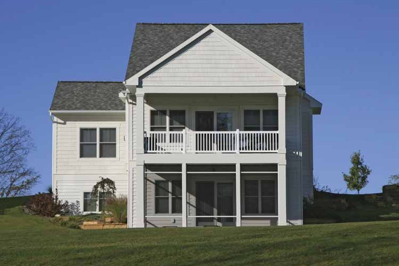 Traditional Exterior - Rear Elevation Plan #928-181 - Houseplans.com