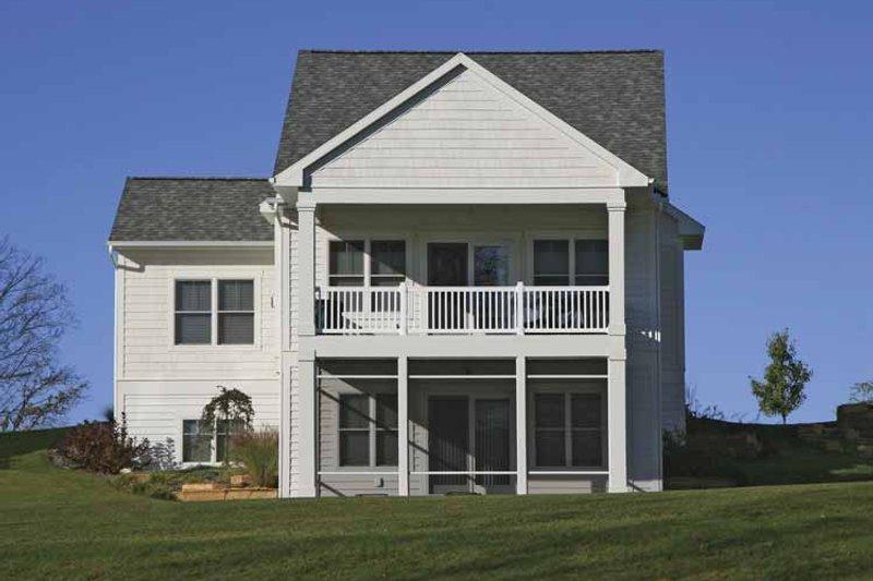 House Plan Design - Traditional Exterior - Rear Elevation Plan #928-181