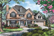 Home Plan - Traditional Exterior - Front Elevation Plan #929-794