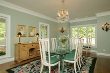 Architectural House Design - Country Interior - Dining Room Plan #57-628