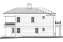 Classical Exterior - Other Elevation Plan #1058-83