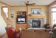 Craftsman Interior - Family Room Plan #981-17