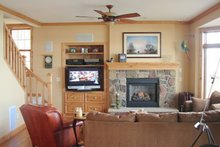 Dream House Plan - Craftsman Interior - Family Room Plan #981-17