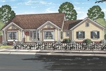 Ranch Exterior - Front Elevation Plan #513-2157