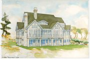 Country Style House Plan - 3 Beds 3 Baths 4262 Sq/Ft Plan #928-231