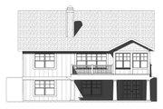 Craftsman Style House Plan - 3 Beds 2.5 Baths 3001 Sq/Ft Plan #901-122