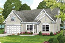 Ranch Exterior - Front Elevation Plan #453-630