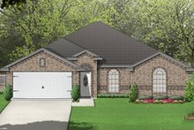 Dream House Plan - Traditional Exterior - Front Elevation Plan #84-585