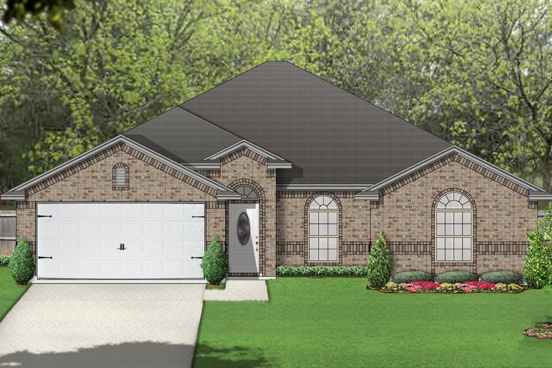 Home Plan - Traditional Exterior - Front Elevation Plan #84-585