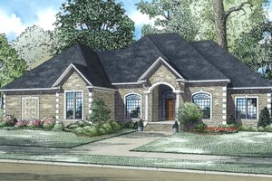 Traditional Exterior - Other Elevation Plan #17-2514