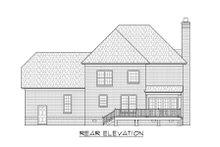 Traditional Exterior - Rear Elevation Plan #1054-55