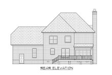 Dream House Plan - Traditional Exterior - Rear Elevation Plan #1054-55