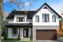 Home Plan - Farmhouse Exterior - Front Elevation Plan #23-2725