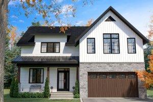 Farmhouse Style House Plan - 4 Beds 2.5 Baths 2496 Sq/Ft Plan #23-2725