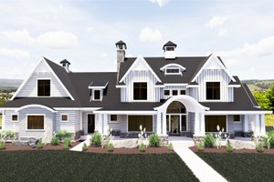 Dream House Plan - Craftsman Exterior - Front Elevation Plan #920-111