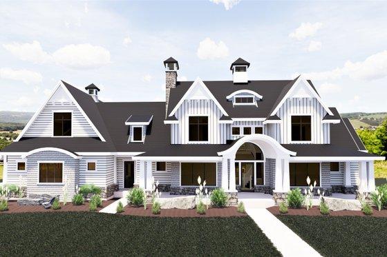 Craftsman Exterior - Front Elevation Plan #920-111