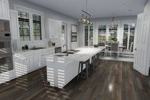 Dream House Plan - European Interior - Kitchen Plan #1060-75