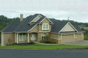 Craftsman Style House Plan - 3 Beds 2.5 Baths 2986 Sq/Ft Plan #48-116 Exterior - Other Elevation