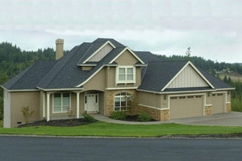 Craftsman Exterior - Other Elevation Plan #48-116 - Houseplans.com
