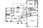 Modern Style House Plan - 4 Beds 3 Baths 2321 Sq/Ft Plan #417-235 Floor Plan - Main Floor Plan