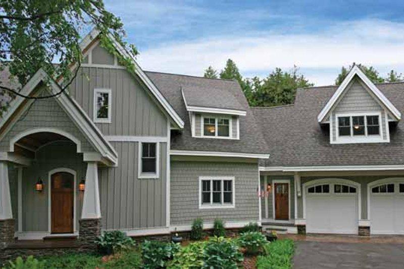 House Plan Design - Craftsman Exterior - Front Elevation Plan #928-54