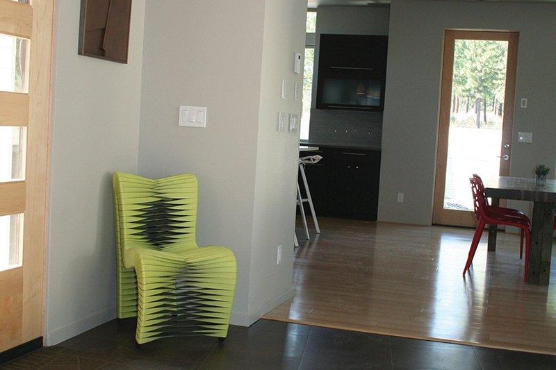 Contemporary Interior - Entry Plan #892-18 - Houseplans.com