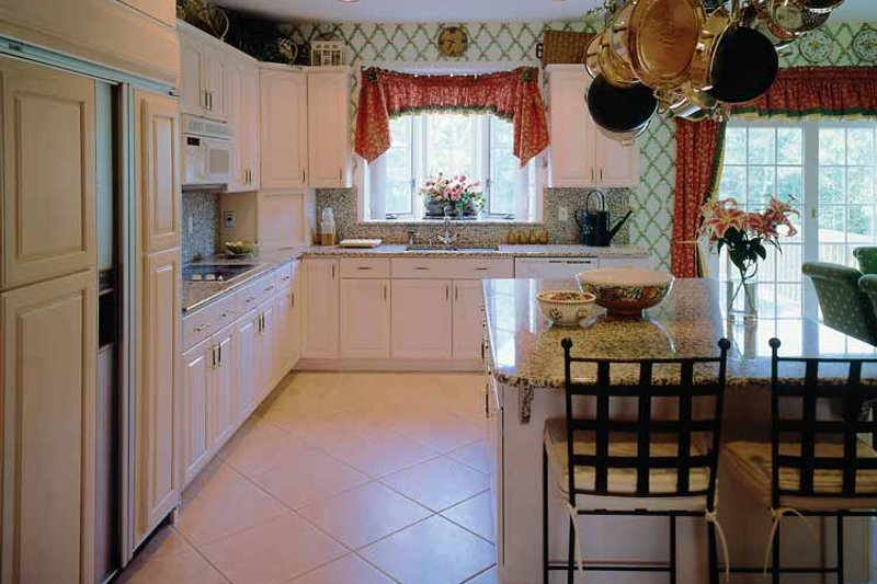 Traditional Interior - Kitchen Plan #314-190 - Houseplans.com