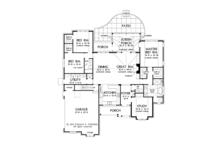 European Floor Plan - Main Floor Plan Plan #929-964