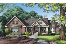 Traditional Exterior - Front Elevation Plan #929-829
