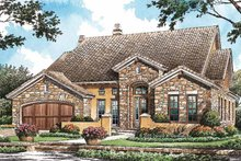 Mediterranean Exterior - Front Elevation Plan #929-766