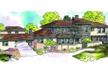 Dream House Plan - Craftsman Exterior - Front Elevation Plan #124-607