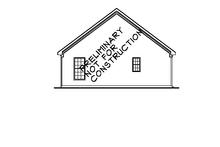 Bungalow Exterior - Rear Elevation Plan #927-290