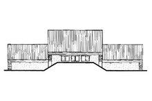 Beach Exterior - Front Elevation Plan #23-1031