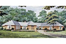 Architectural House Design - European Exterior - Front Elevation Plan #314-265