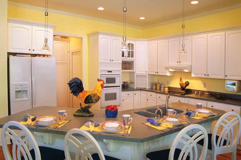 Country Interior - Kitchen Plan #930-81 - Houseplans.com