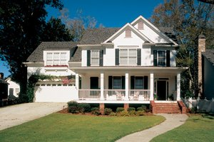 Country Exterior - Front Elevation Plan #927-633