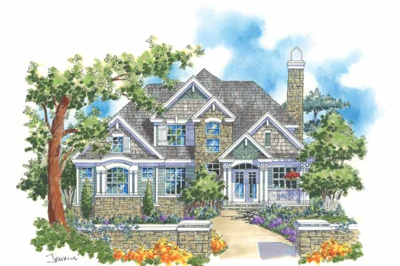 Traditional Exterior - Front Elevation Plan #930-113