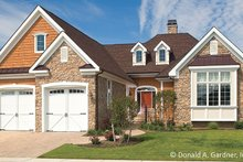 Country Exterior - Front Elevation Plan #929-694