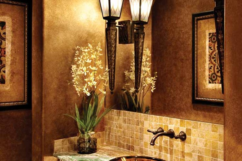 Mediterranean Interior - Bathroom Plan #930-440 - Houseplans.com