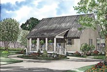 Architectural House Design - Bungalow Exterior - Front Elevation Plan #17-3171
