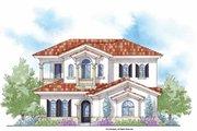 Mediterranean Style House Plan - 4 Beds 4.5 Baths 3191 Sq/Ft Plan #938-28