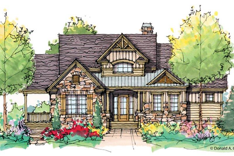 House Plan Design - Craftsman Exterior - Front Elevation Plan #929-943