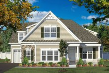 House Design - Colonial Exterior - Front Elevation Plan #316-276
