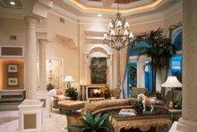 Mediterranean Interior - Family Room Plan #930-187